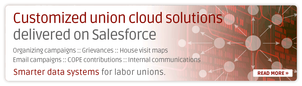 Customized union cloud solutions  delivered on Salesforce